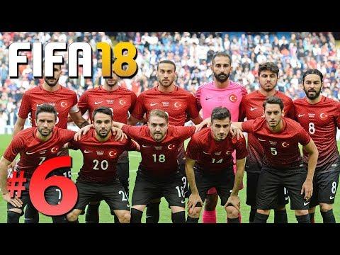 FIFA 18 KARİYER #6: TÜRKİYE MİLLİ TAKIMI DÜNYA KUPASINDA!