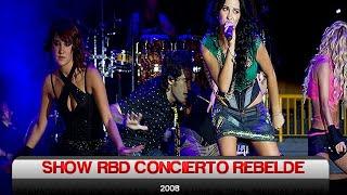 """Show RBD Concierto """"Rebelde"""" (Empezar Desde Cero World Tour 2008) - Completo"""