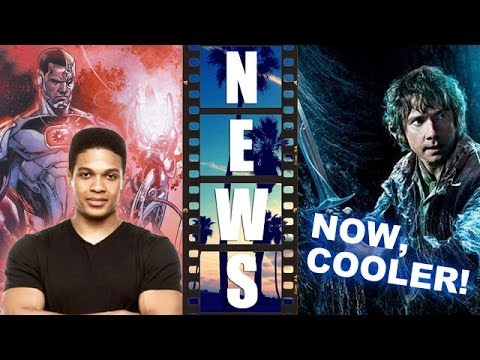 Ray Fisher is Cyborg in Batman Superman 2016, Hobbit Battle of the Five Armies - Beyond The Trailer