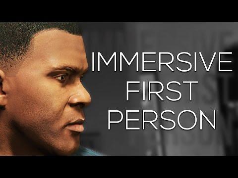 GTA - Immersive First Person [Rockstar Editor]