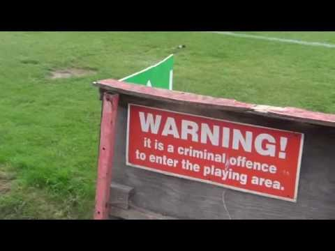 Keep off the pitch!