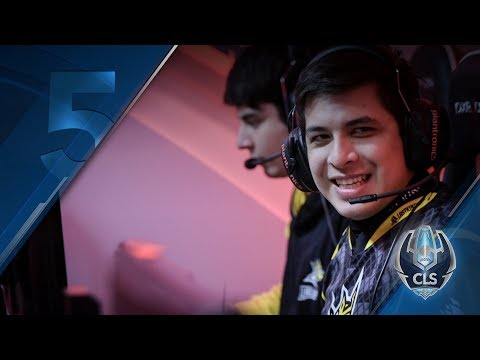 Jugadas Destacadas - CLS Clausura - Semana 7   Top-5   League of Legends   Esports