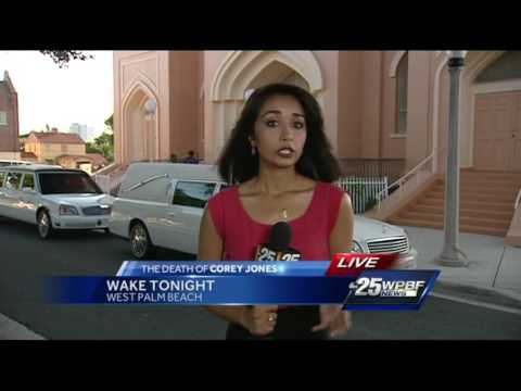 Wake held for Corey Jones
