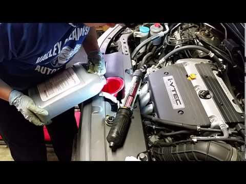 Easy Coolant System Drain And Fill On 2008 Honda Element Ex Youtube