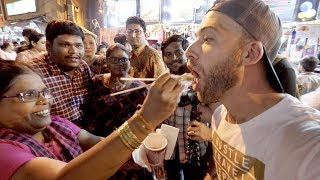 American REACTS to 201 Indian STREET FOOD Dishes | From Around INDIA!