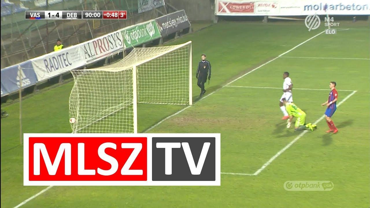 Mengolo Justin Junior gólja a Vasas FC - DVSC mérkőzésen