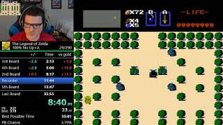 (35:50) The Legend of Zelda - 100% no up+a speedrun