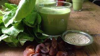 Apricot Spinach Smoothie ~ Take 3
