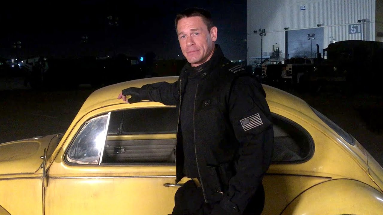"Behind the scenes of ""Bumblebee"" with John Cena"