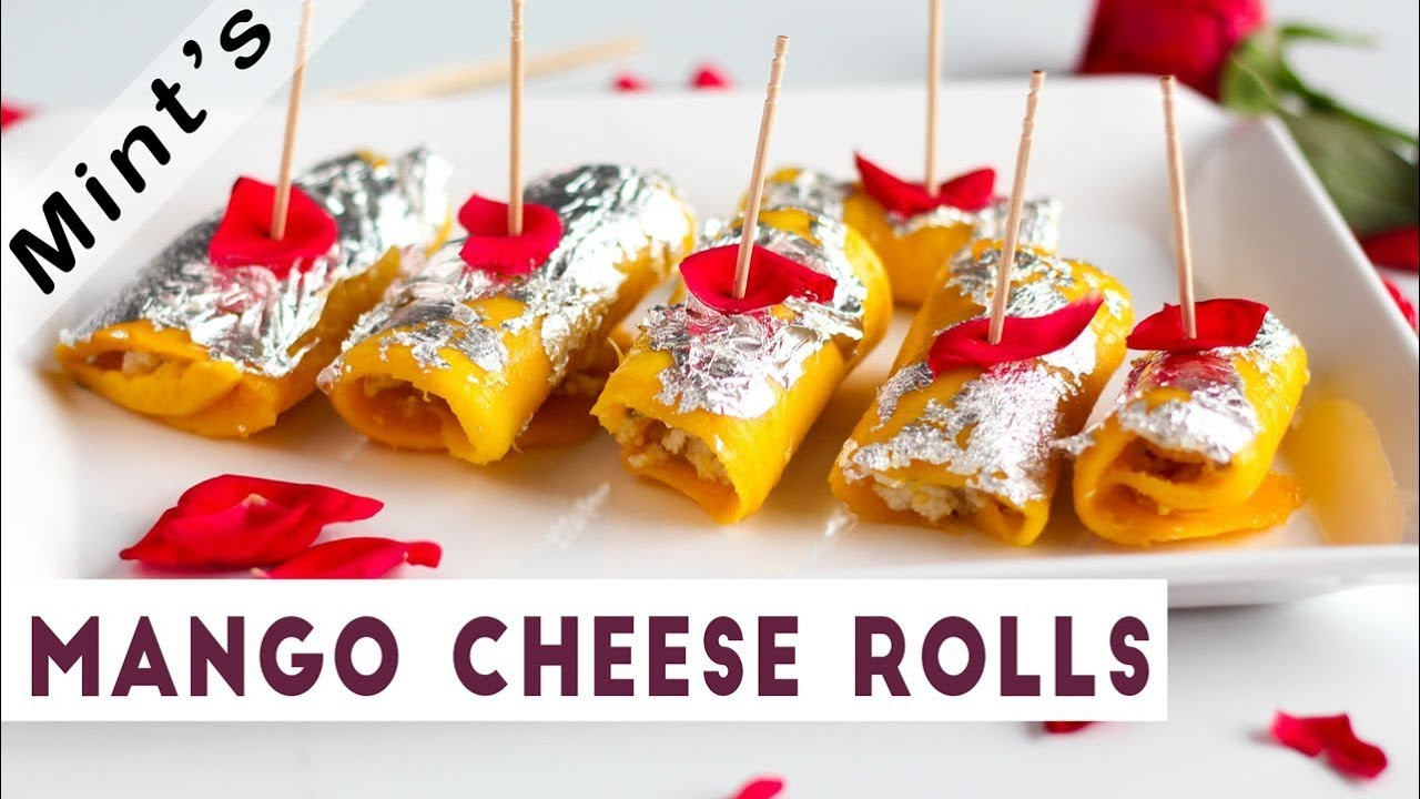 Mango Cheese Rolls