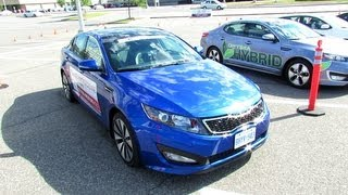 2012 KIA Optima SX T-GDI Exterior and Interior - Carrefour Laval, Quebec, Canada
