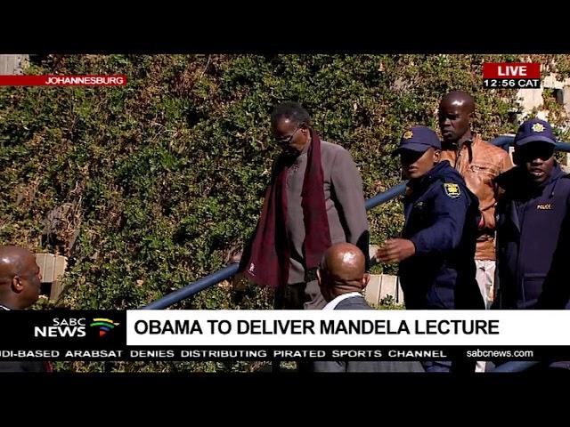 Bantu Holomisa paying tribute to Nelson Mandela