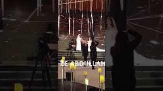 زفة رؤى الصبان من حفل زفافها بالرياض شاهد جمال رؤى 😍