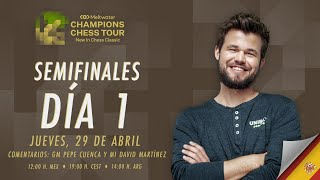 MELTWATER CHAMPIONS CHESS TOUR | Carlsen vs Aronian - Mame vs Nakamura