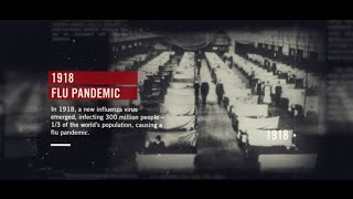 100 years ago the 1918 influenza pandemic devastated entire communities and took at least 675,000 american lives. it was most severe in recent h...
