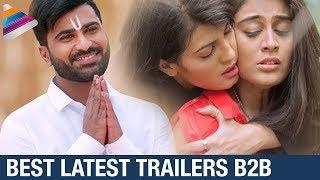 Latest 2017 Telugu Movie Back 2 Back Trailers | Mahanubhavudu | Sharwanand | Sai Pallavi | Nivetha