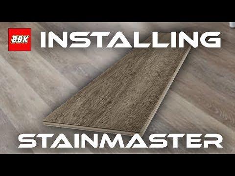 Installing Stainmaster Washed Oak