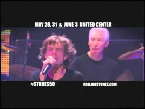 "The Rolling Stones ""50 AND COUNTING"" - May 28, May 31, June 3 - United Center, Chicago"