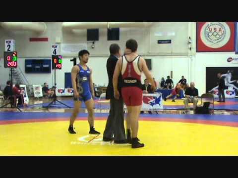 SCHULTZ: Okamoto (JPN) dec. Regner (USA), 66 kg