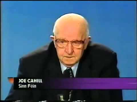 """Joe Cahill - """"Let us win the Peace!"""""""
