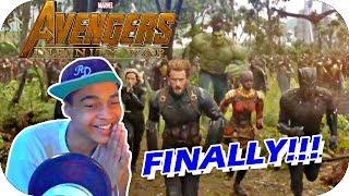 Marvel Studios' Avengers: Infinity War Official Trailer Reaction/Review