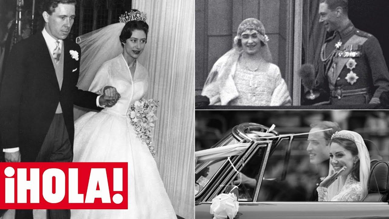 Vestido novia princesa margarita
