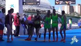 Maratón Valencia 2014 - Algunas llegadas intensas