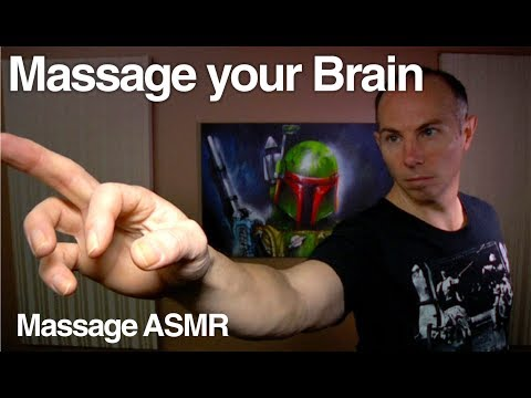 ASMR Binaural Brushing 2 - Massage your Brain ** Gentle Sounds **