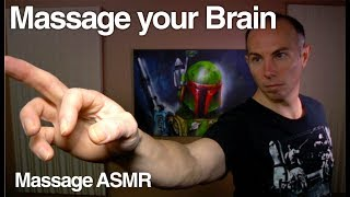 vuclip ASMR Binaural Brushing 2 - Massage your Brain ** Gentle Sounds **