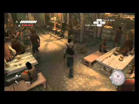 tutorial assassin's creed la hermandad trucos (loquendo)