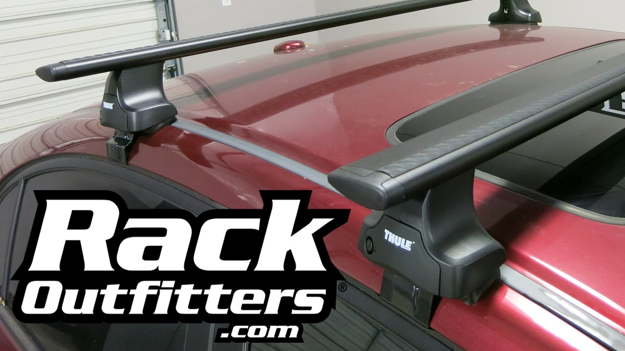 best roof rack for honda civic sedan the thule 480r aeroblade from rack outfitters