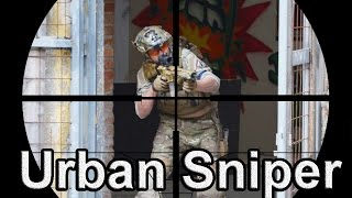 Airsoft Sniper Gameplay - Scope Cam - Urban Sniper