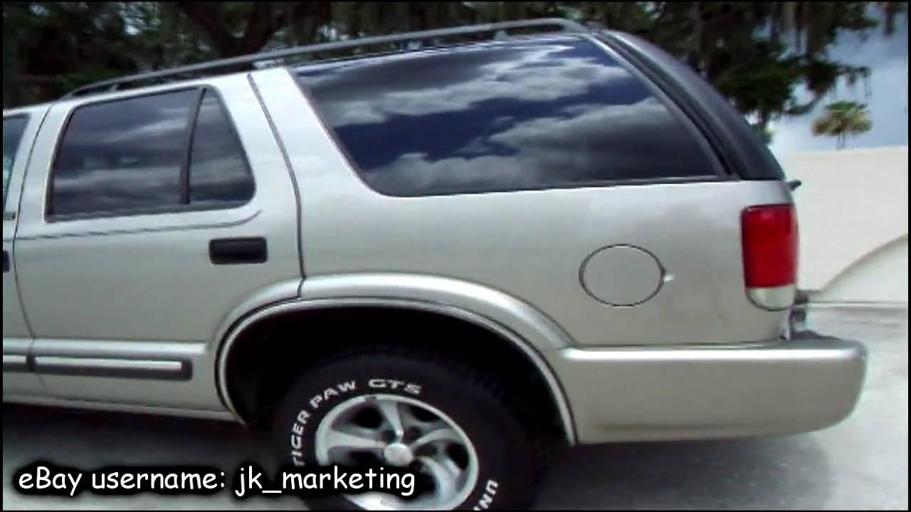 Demo Drive and Walk Around Presentation of a 2000 Chevrolet Blazer
