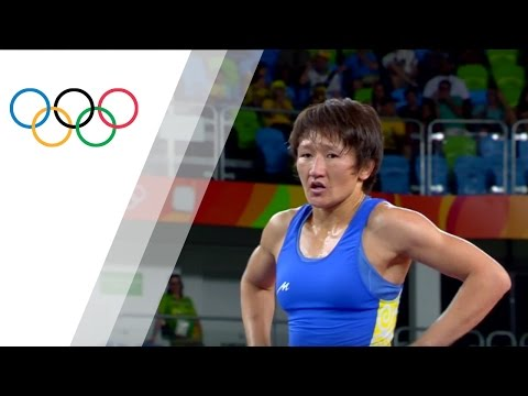 S. Malik v M.C. Esanu | Women's Freestyle Wrestling 58kg Bronze Medal Match B | Rio 2016 Replay