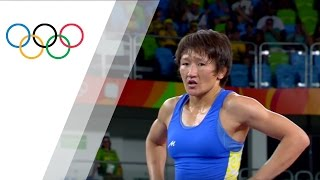 Rio Replay: Women's Freestyle 58kg Bronze Medal Match B