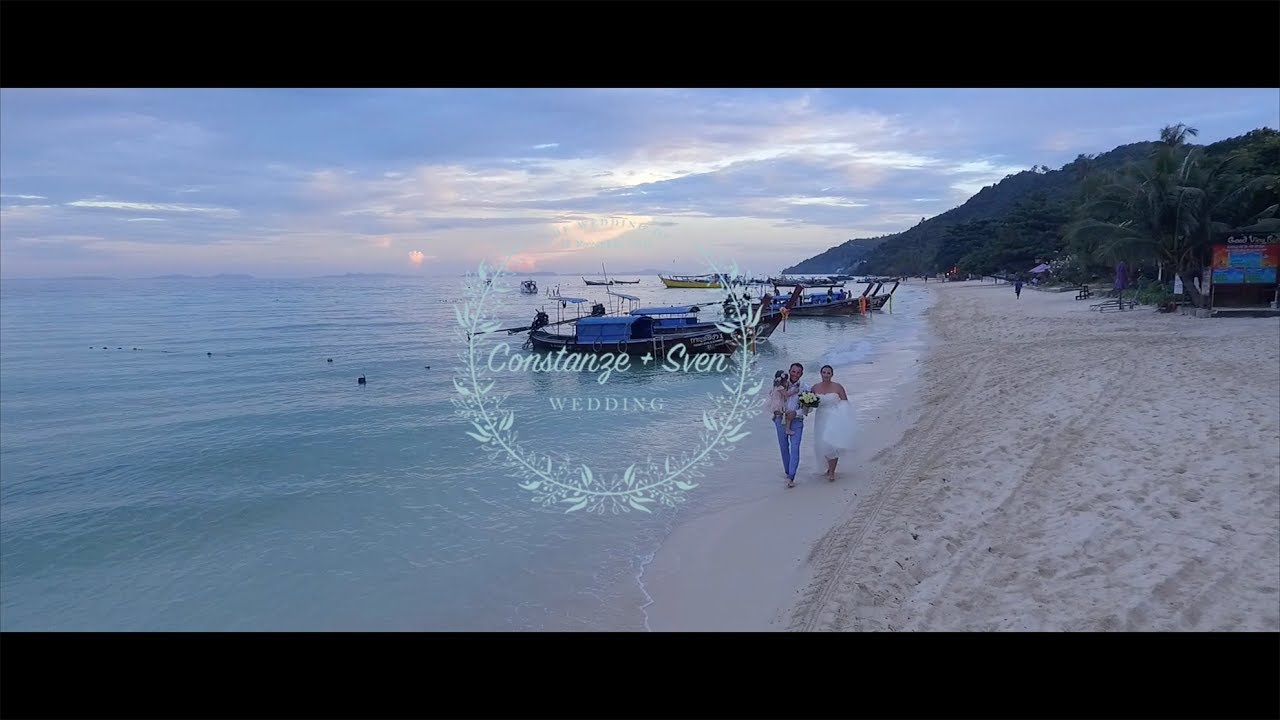 Constanze & Sven Wedding Highlight @Zeavola Resort Phi Phi Island