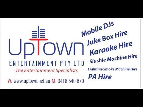 Up Town Entertainment Pty Ltd   DJ, Jukebox, Karaoke, PA & Slushie Hire Darwin