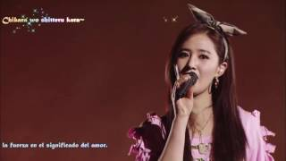 Gambar cover SNSD All my love is for you Sub Español Live Tokyo Dome