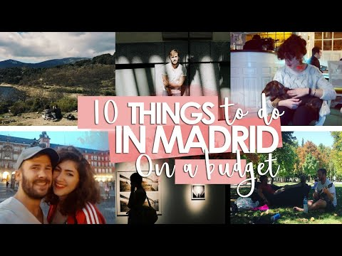 OUR 10 CHEAP (or free) THINGS TO DO IN MADRID // Lailandi en Casa