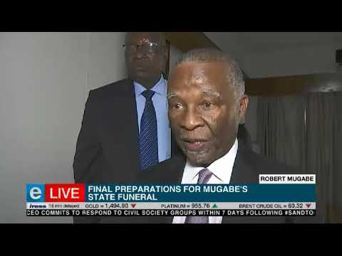 Mbeki to attend Mugabe's funeral