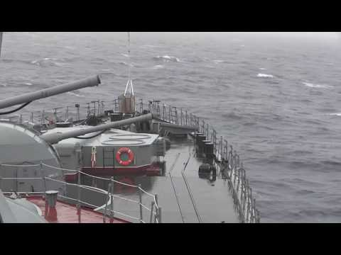 Russia's Northern Fleet conducts live firing drills in Barents Sea