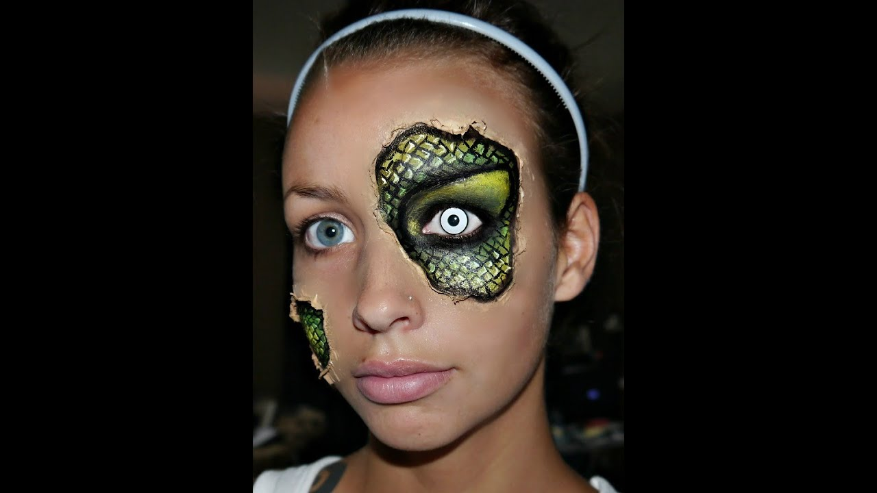 Halloween Series 2012: Reptile Under Your Skin Makeup Tutorial ...