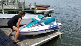 DIY Jet Ski docking system under $200