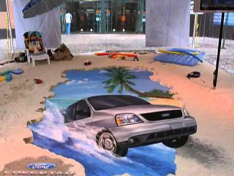3d Chalk Drawings 3d Chalk Drawings On The Street Youtube