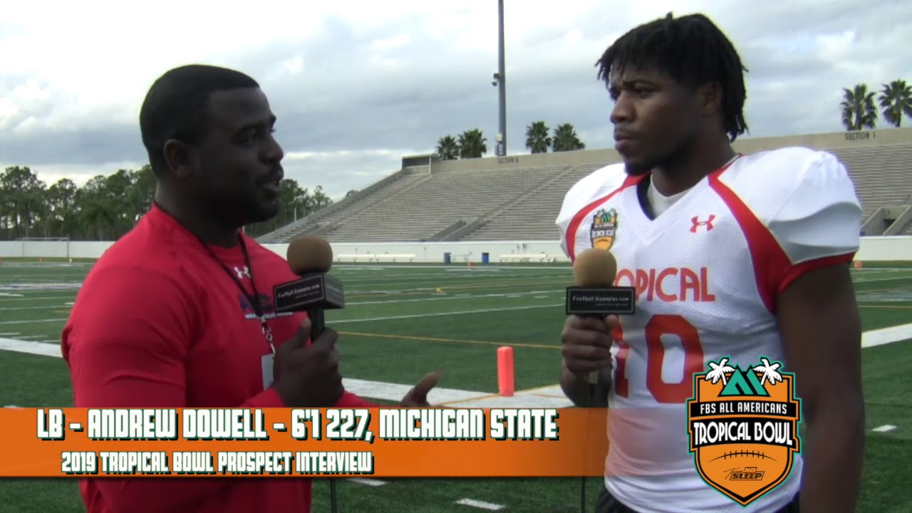 new arrival a60fe 0781d 2019 Tropical Bowl Prospect Interview: Andrew Dowell, Michigan State