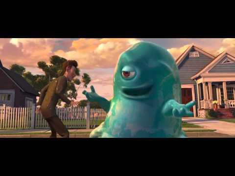 Monsters Vs Aliens - Best Scene 2 (B.O.B and Derek)