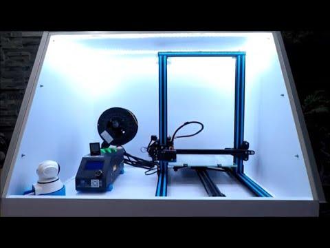 Creality CR-10S 3D Printer - DIY Enclosure - Part II