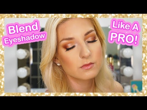HOW TO BLEND EYESHADOW | Basic Eye Makeup Tutorial in REAL TIME