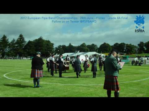 01 Bowhill and District   2017 Grade 4A European Pipe Band Championships