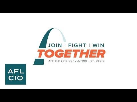 2017 International Convention   Officer acceptance speeches   AFL-CIO Video